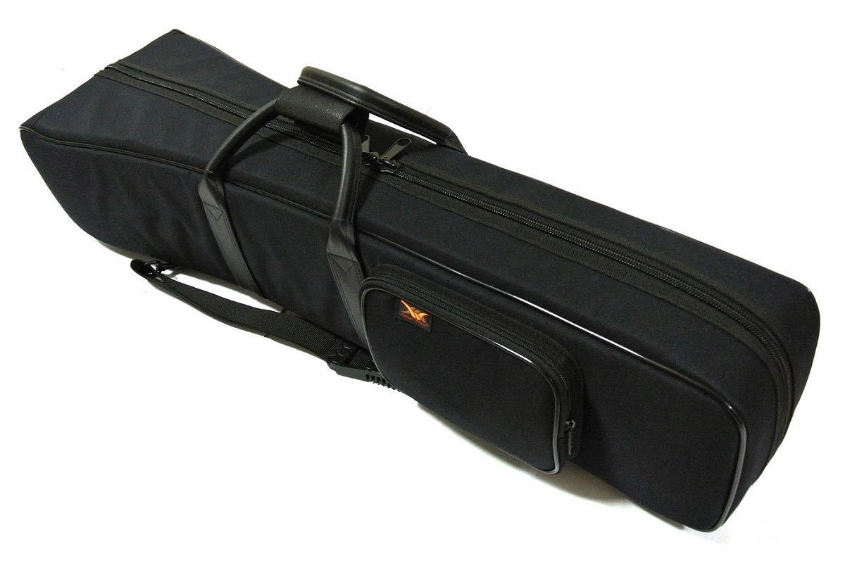 画像1: Master Wang 特製 二胡二把用 セミハードケース(肩掛けベルト1本タイプ)