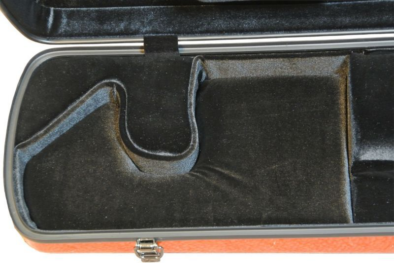 画像2: 北京佳楽琴房製 二胡ハードケース:オレンジ(ABS樹脂)