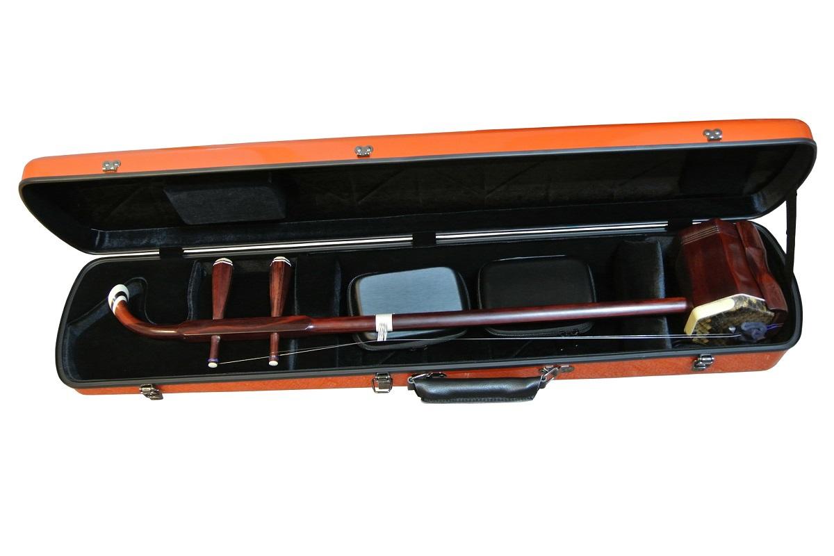 画像4: 北京佳楽琴房製 二胡ハードケース:オレンジ(ABS樹脂)