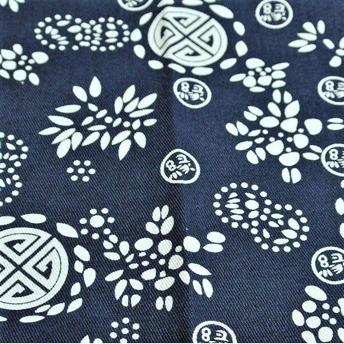 画像2: ハンドメイド 江南藍染風オリジナル二胡カバー【縁福寿 藍】藍地+藍辺(松脂よけ ブランケット)