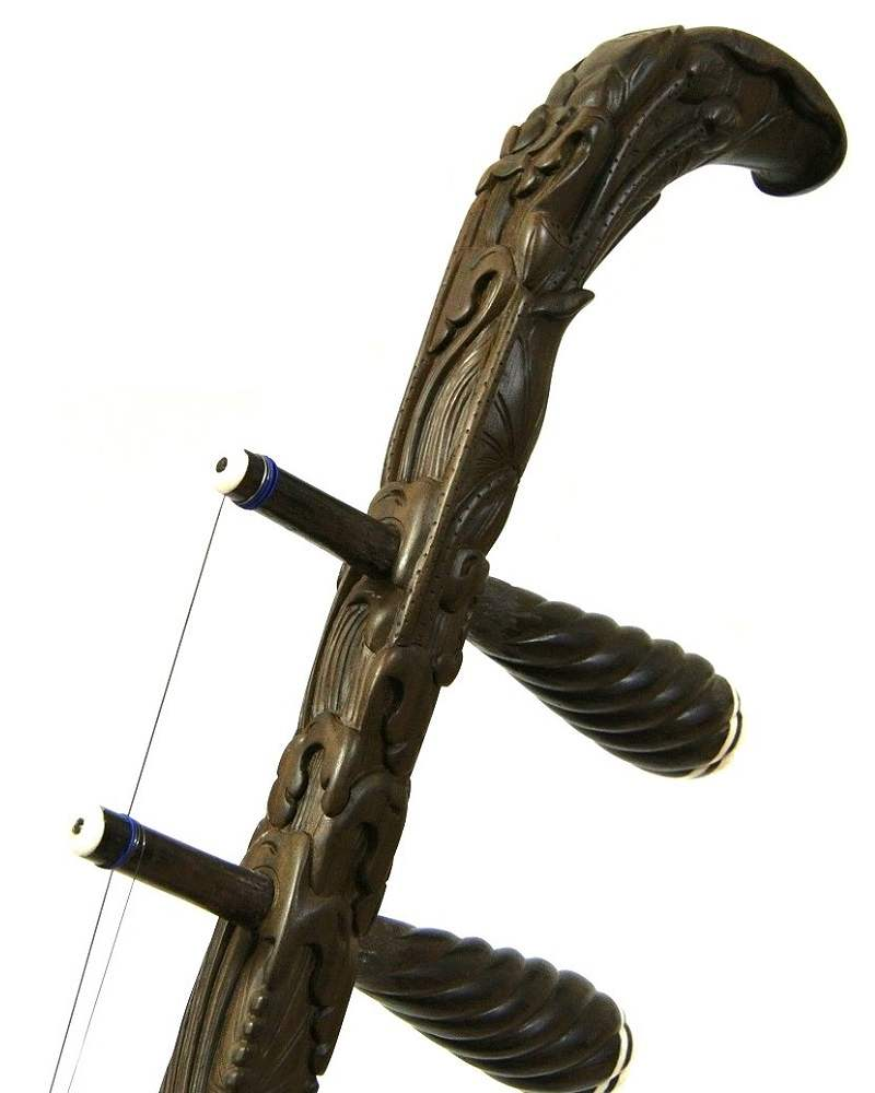 画像1: 王根興作 『荷塘月色』 老紅木二胡