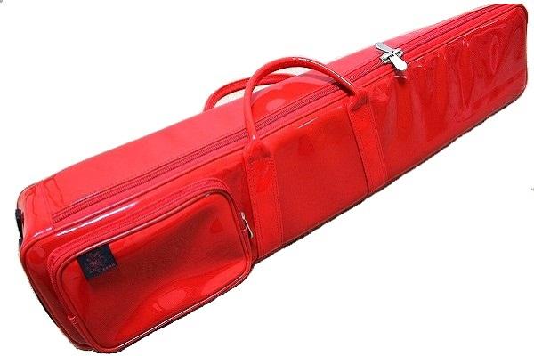 画像1: 台北 長安楽器特製 二胡ソフトケース(カラー:レッド)