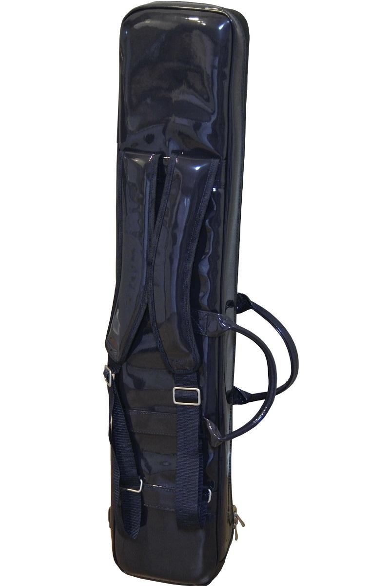 画像1: 台北 長安楽器特製 二胡ソフトケース リュック式(カラー:ネイビーブルー)