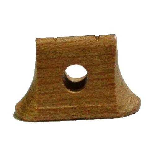 画像2: 精修白木二胡駒(長型)