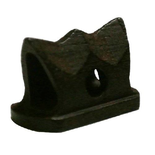 画像1: 精修黒檀型二胡駒(山型)