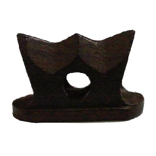画像2: 精修黒檀型二胡駒(山型)
