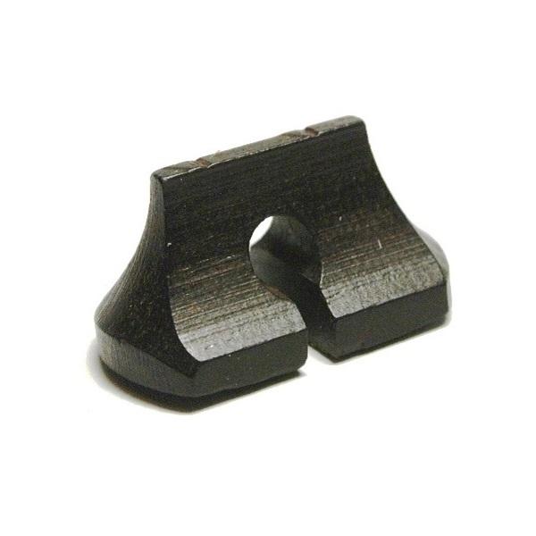 画像1: 専業用黒檀二胡駒(ブリッジ型)