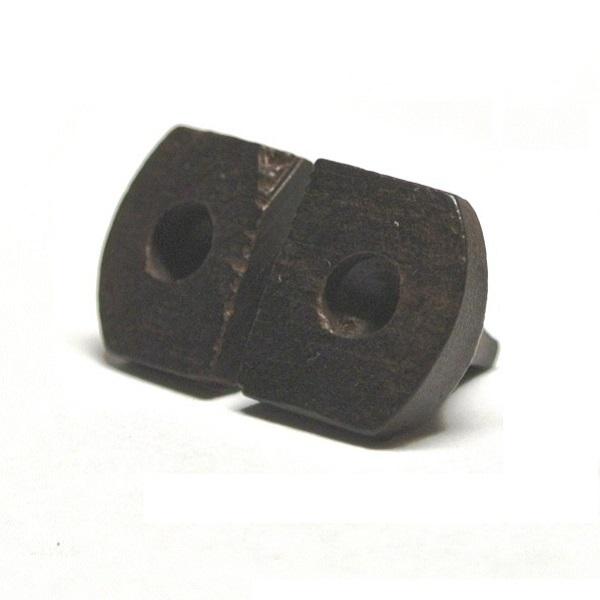 画像2: 専業用黒檀二胡駒(ブリッジ型)